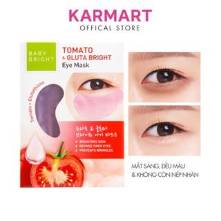 Mặt nạ dưỡng sáng da mắt Cà chua và Gluta Baby Bright Tomato & Gluta Eye Mask 2.5g x 2 miếng (1 Cặp) thumbnail