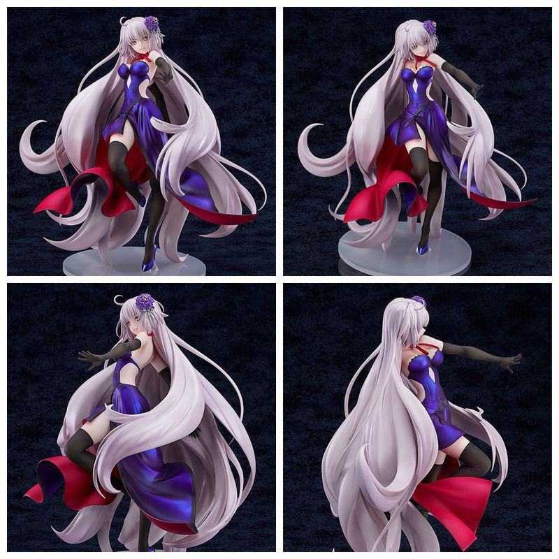 Fate FGO 贞德 黑黑化 黑贞德 Dress Edition 1/7 Boxed Action Figures