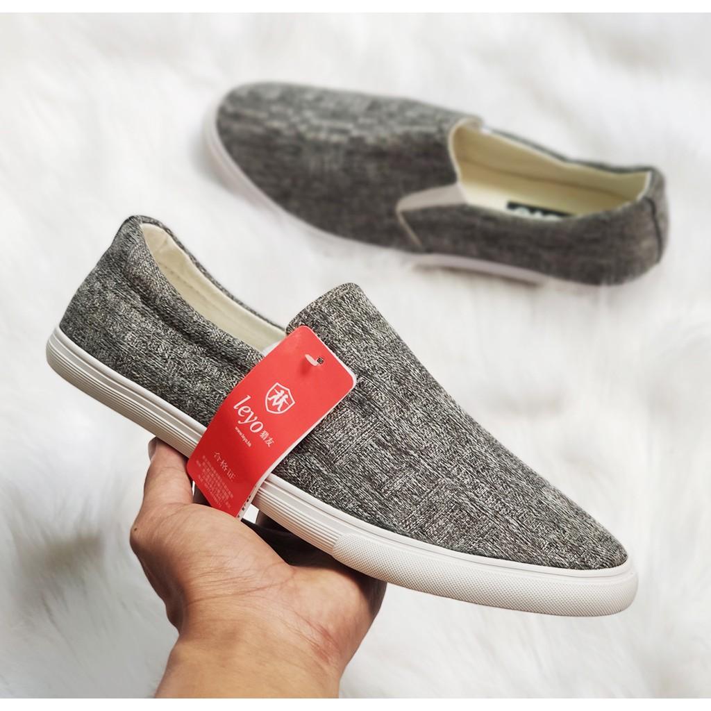Giày lười nam chất lượng cực tốt, lên chân rất đẹp