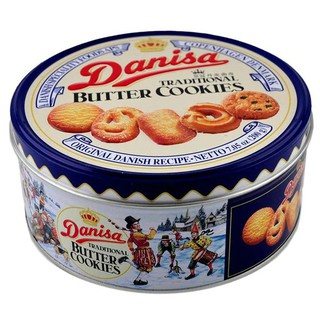 Bánh Danisa hộp sắt 200g, 454g, 681g, 908g( sp có kèm túi xách)