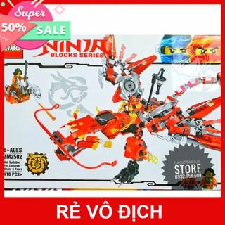 [HOT]Lego Zimo Lắp Ráp Robot Rồng Ninja ( Đỏ )( Hàng có sẵn )