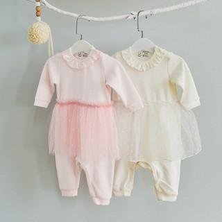 Bộ Body Liền Váy Cho Bé Gái 0-24 Tháng Abbieoh B010 AW18 thumbnail
