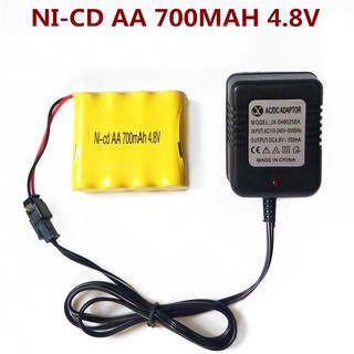 Pin NI-cd 700mAh 4.8V jack SM