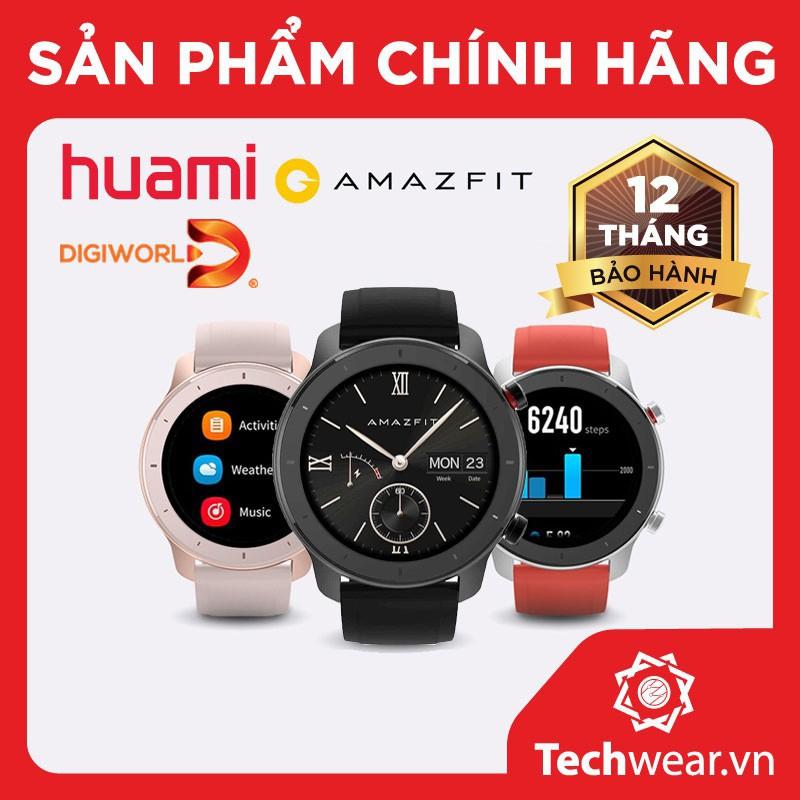 Đồng hồ thông minh Xiaomi Huami Amazfit GTR 42mm - Bản quốc tế chính hãng Digiworld
