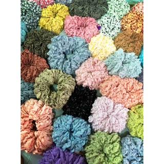 Scrunchie mẫu mới đẹp giá rẻ nhặt mix nhiều mẫu thumbnail