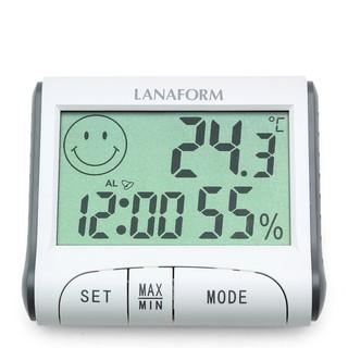 [Nhập khẩu] Nhiệt ẩm kế có kèm đồng hồ Lanaform của Bỉ – Bảo hành chính hãng 24 tháng