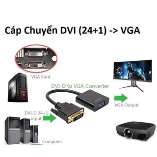 Cable chuyển DVI ra VGA (24+1) thumbnail