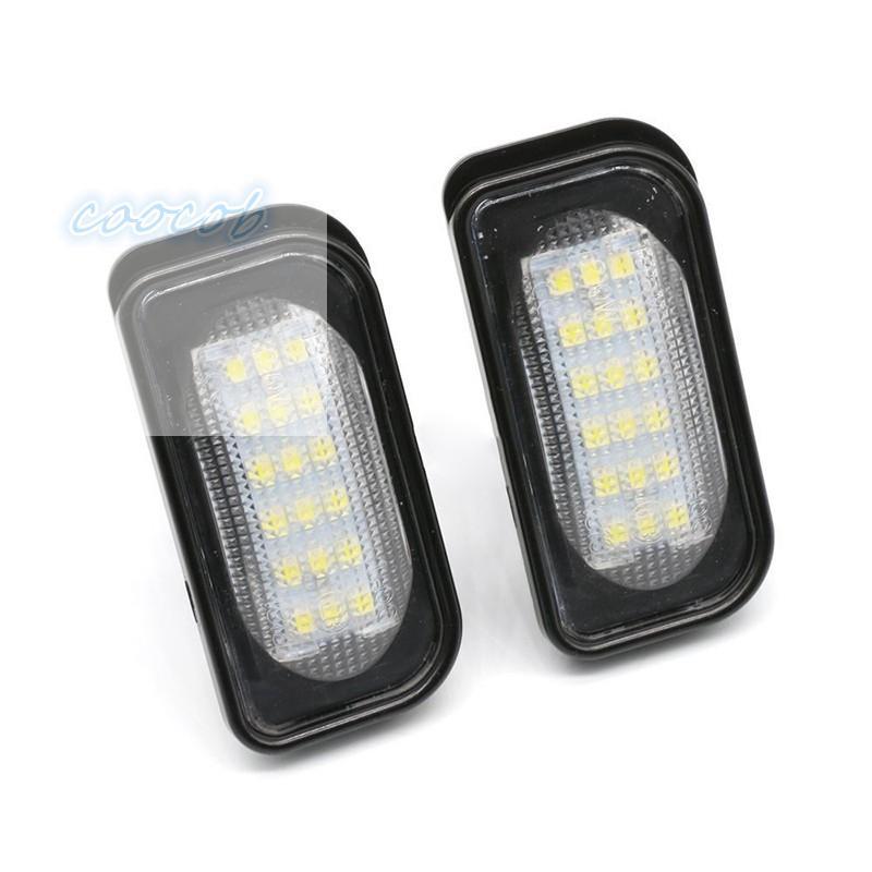 Set 2 đèn LED chiếu sáng biển số xe ô tô Mercedes Benz W203 W211 W219 E