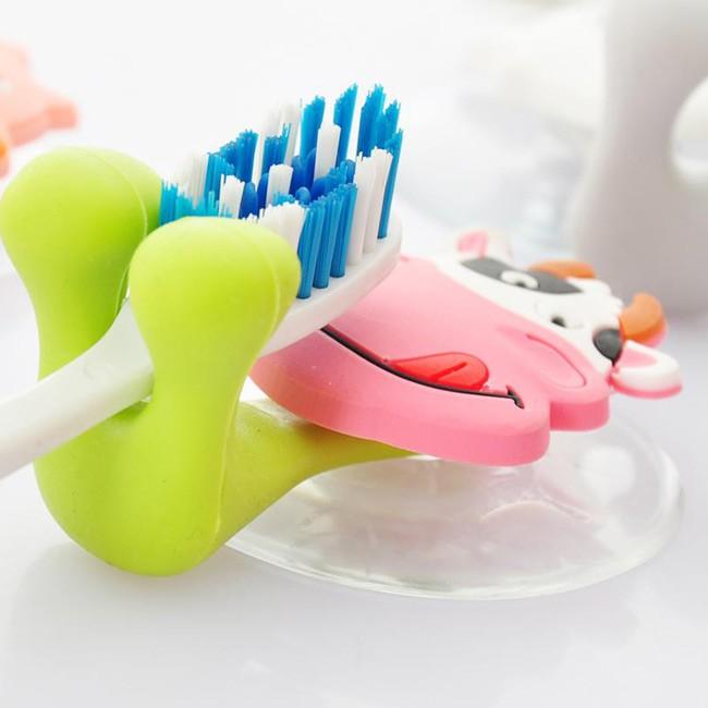 Kẹp bàn chải đánh răng hình thú ngộ ngĩnh