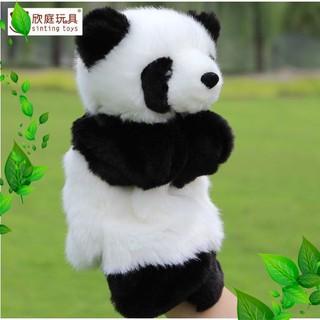 [Giá Rẻ] Rối bàn tay gấu Panda đáng yêu phát triển trí tuệ cho bé [Đẹp]