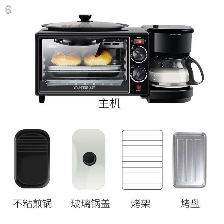 ☋ﺴMáy ăn sáng ba trong một với lò nướng điện máy làm bánh mì tự động đa chức năng lò nướng quà tặng điện bán buôn tùy ch