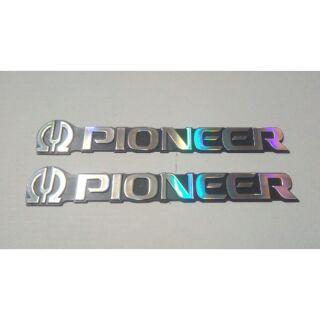 Combo 2 tem loa Pioneer cỡ lớn 14*2,5 cm