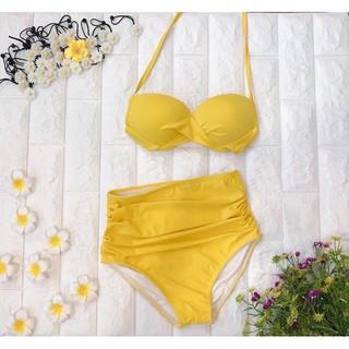 Bikini 2 mảnh áo gọng xoắn ngực – NHIỀU MÀU