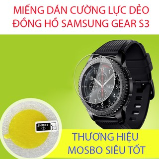 Miếng dán cường lực dẻo đồng hồ Samsung Gear S3