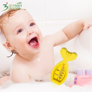 Plastic Cute Floating Fish Shape Baby Bath Tub Water Sensor Thermometer Toy