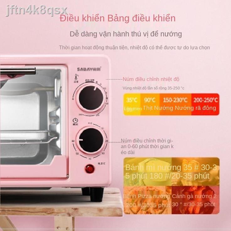 ✇Lò nướng và lò vi sóng gia dụng tích hợp máy nướng bánh đa chức năng hồng tự động hấp bánh pizza nhỏ ăn sáng.