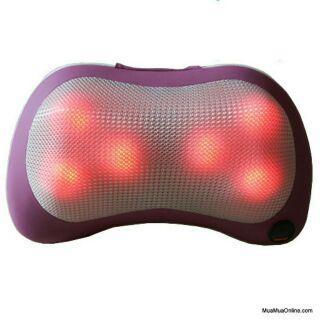 Gối massage 6 đá hồng ngoại massage Pillow PL-819 thumbnail