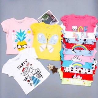 Áo Thun Bé Gái, Size 6-10, Hàng Made In Vn, Chất Cotton Xuất Dư Đẹp, Nhiều Màu Sắc Cho Bé Lựa Chọn