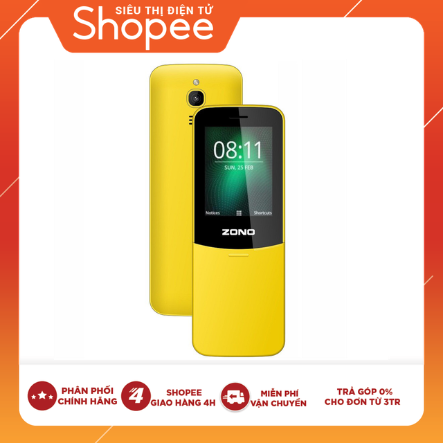Điện thoại di động ZONO N8110 2.4 inch - Hàng chính hãng bảo hành 12 tháng