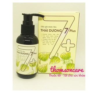 Dầu gội Thái dương 7 Plus từ thảo dược - chai 250ml có vòi tiện dụng - Mẫu mới thumbnail