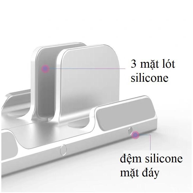 Giá đỡ để dựng đứng laptop ipad iphone macbook surface bằng hợp kim nhôm X13