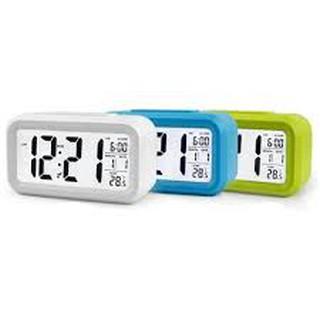 Đồng hồ báo thức kỹ thuật số với đèn LED nền cảm biến đa chức năng: thời gian, lịch, báo thức, nhiệt độ - LC01