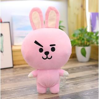 Gấu bông mini Joongkook BT21- BTS (hồng)