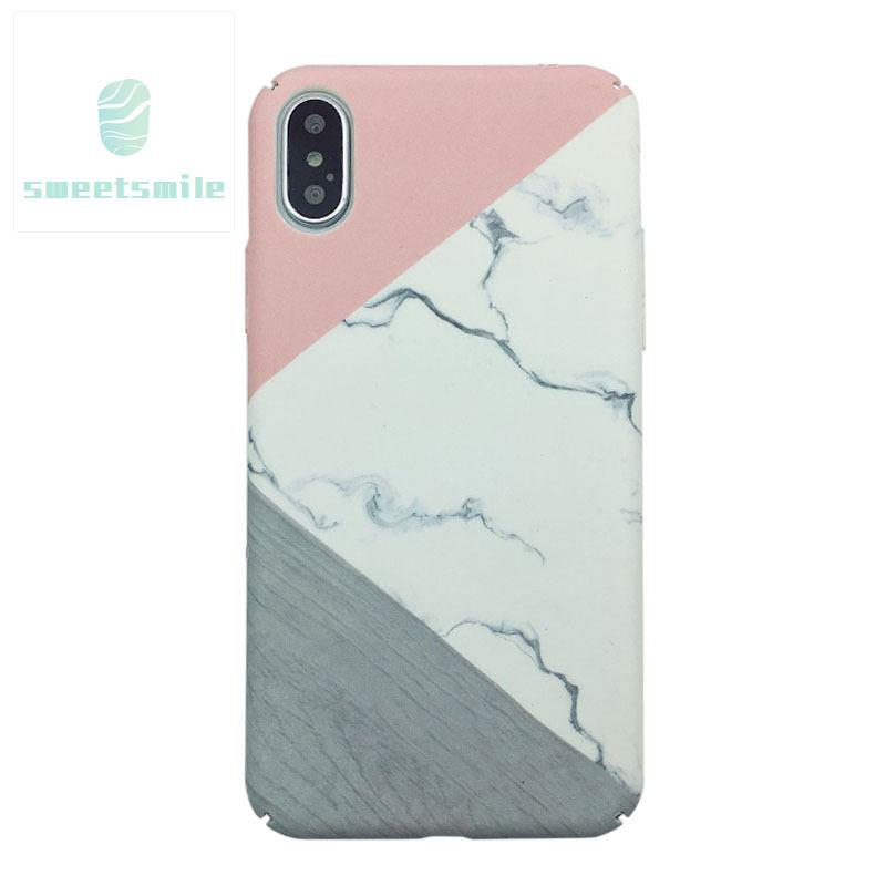 SW♥ Mobile Phone Case Cover Shockproof Marble Pattern Compatible OPPO R9 R9S R11 A77 A59 A57