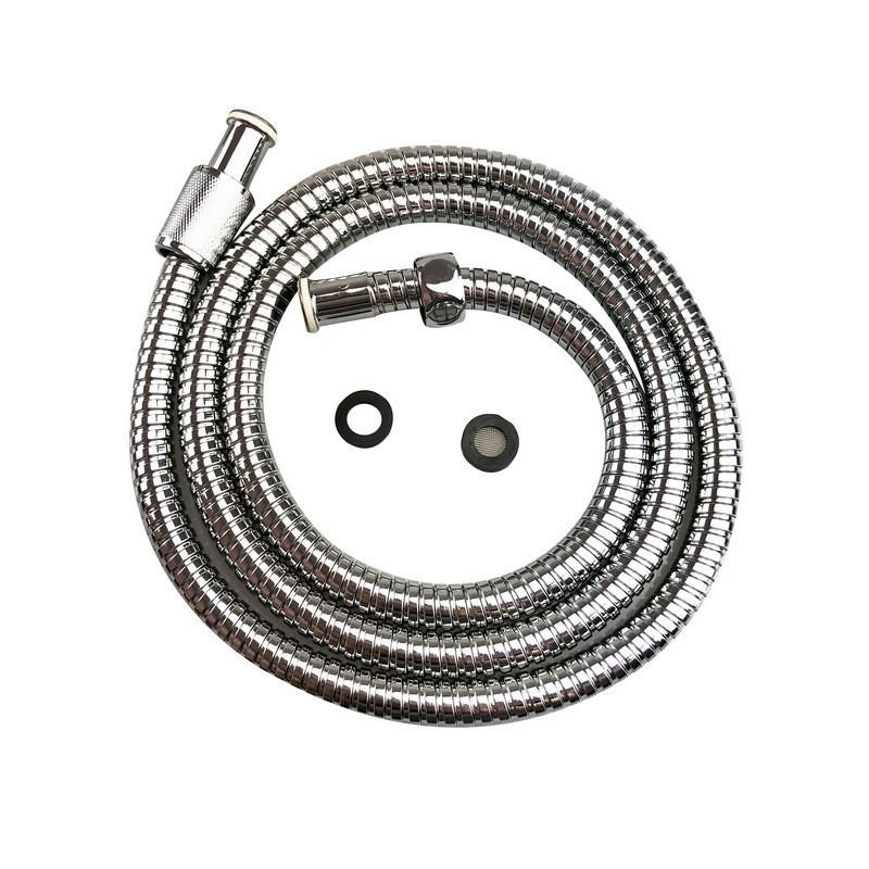 Dây sen , dây cấp nước vòi hoa sen , vòi xịt Inox 304 dài 1.5M