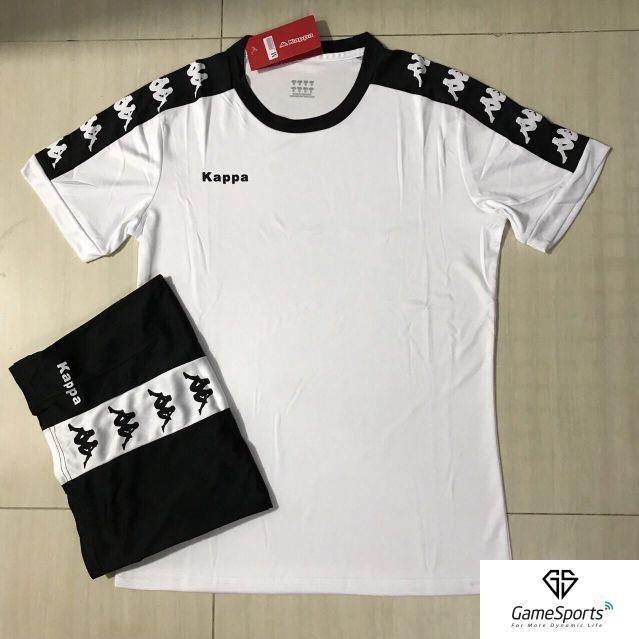 [ Thun thái ] Bộ quần áo bóng đá không logo KL06 trắng ( áo bóng đá thiết kế )