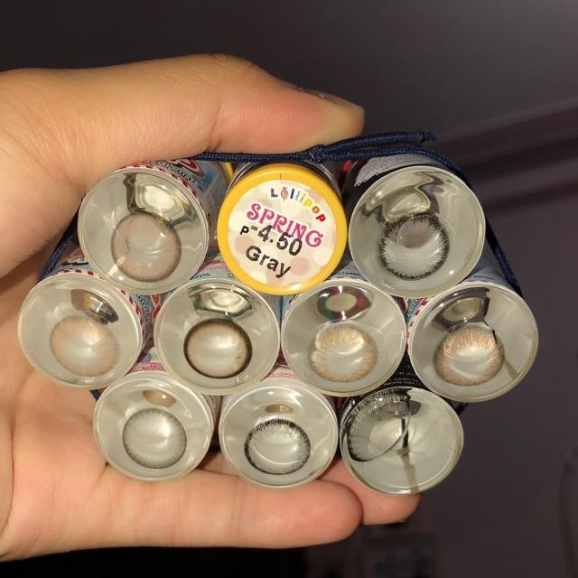 Lens cận và lens 0 độ ( kính áp tròng hàn quốc )