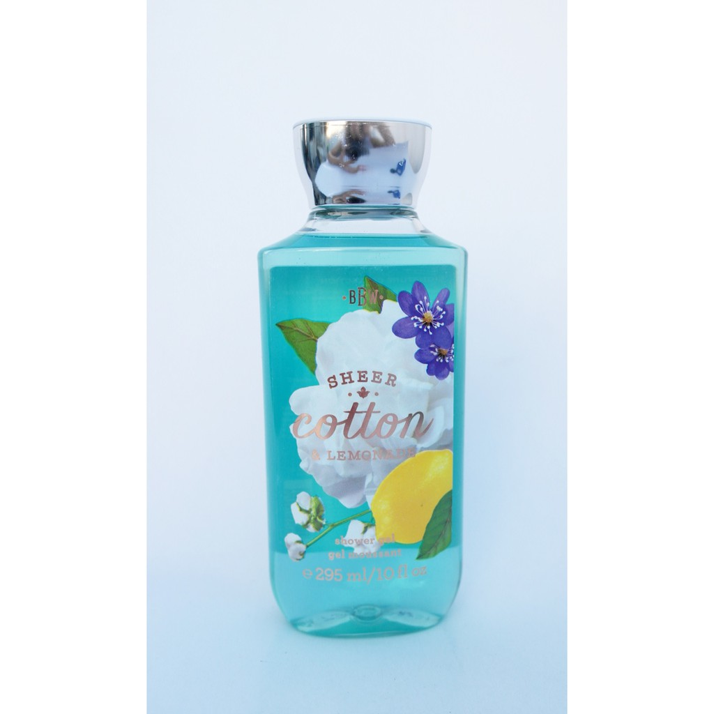 Sữa tắm SIGNATURE COLLECTION Sheer Cotton & lemonade - Bath and Body Works ( 295ml )
