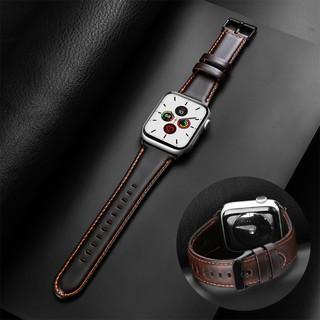 Dây đeo da thay thế dành cho Apple Watch Series 6 SE 5 4 3 2 1 38mm 42mm 40mm 44mm