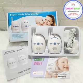 [hàng có sẵn] Máy báo khóc không dây Corky Baby mbk00 - Giao tiếp 2 chiều với bé