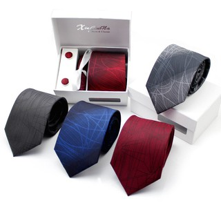 1Pc Fashion Men Striped Tie Men Business Profession 8CM Tie