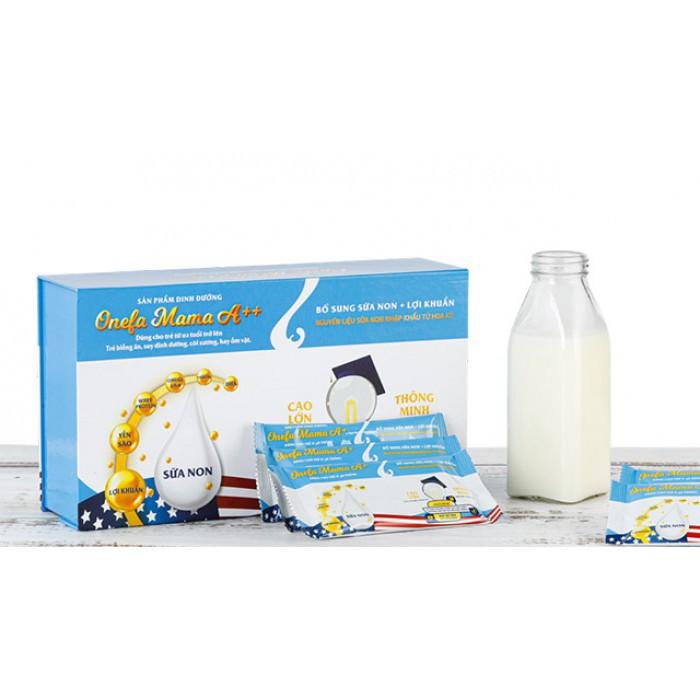 [FLASH SALE] 2 gói sữa non Onefa MaMa cho bé - Dành cho trẻ biếng ăn, suy dinh dưỡng, còi xương hay táo bón