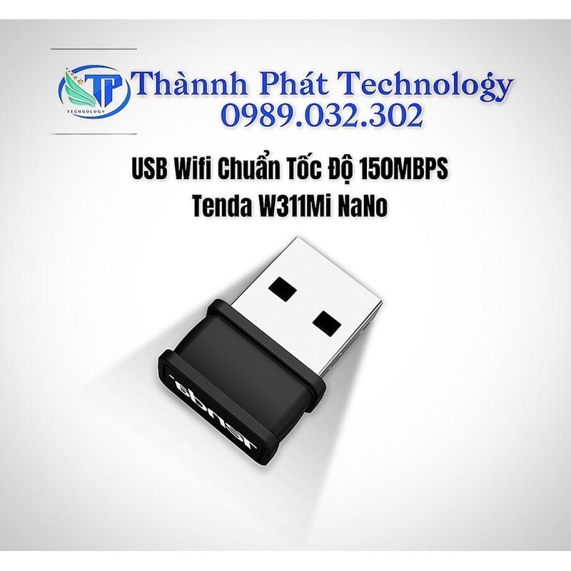 USB Wifi Chuẩn Tốc Độ 150Mbps Tenda W311Mi NaNo