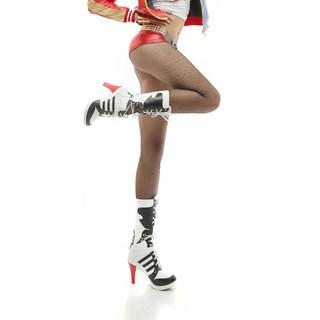 Giày Hóa Trang Nhân Vật Harley Quinn Trong Suicide Squad 4