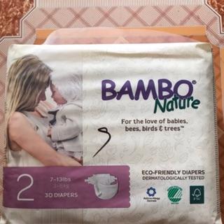[SẢN PHẨM CHÍNH HÃNG] Bỉm BamBo Nature Đan Mạch NB 30, S 33, M 30, L27, XL 22, M q 22, Lq 18, XLq 18