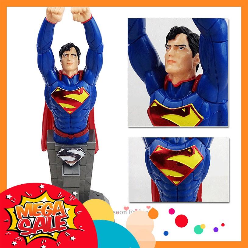 Đồ Chơi Xếp Hình 3D Siêu Anh Hùng Siêu Nhân Super Man Hàng Nhập