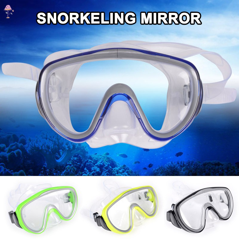 LC Professional Underwater Diving Mask Swimming Scuba Snorkel Goggles @MY