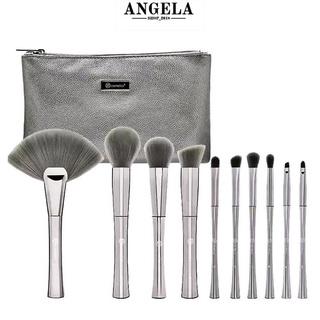 Bộ cọ trang điểm Bh Cosmetics cao cấp thân màu bạc, lông cọ màu khói, siêu mền nguyên tem, ful thumbnail