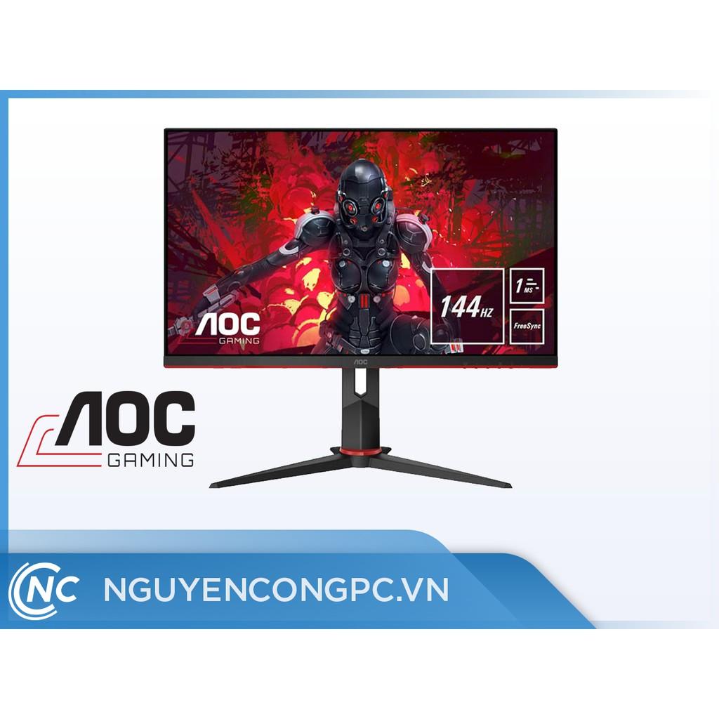 """Màn Hình Gaming AOC 24G2 - 24"""" - FullHD - 144Hz - IPS - FreeSync ( Mới, Chính Hãng, Bảo Hành 36 Tháng )"""