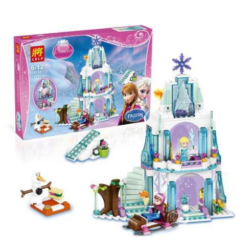 Đồ chơi lego 79168 hoặc SY373 (ngẫu nhiên) ghép hình lâu đài tuyết công chúa elsa anna SP1337 FD09 (rẻ thanh lý)