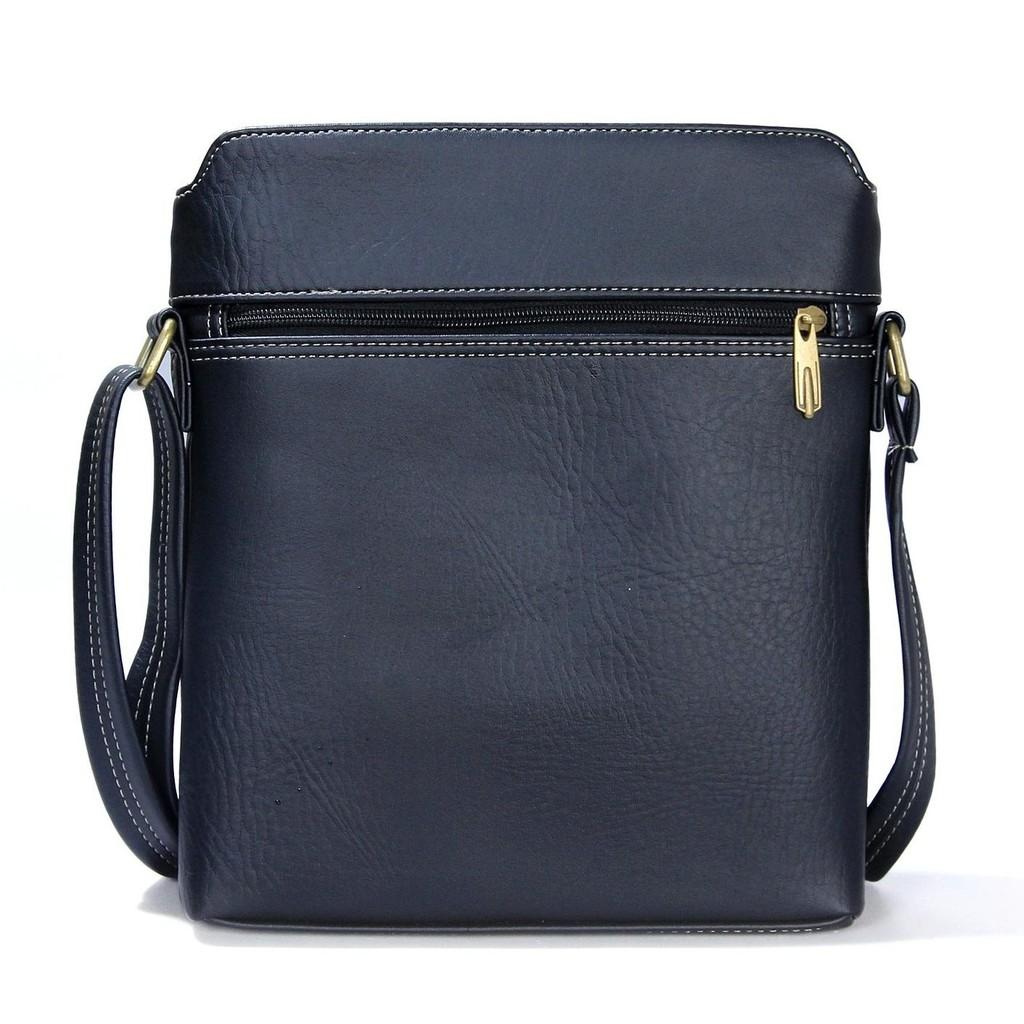 Túi đeo chéo CNT nam nữ IPAD16 đen đẳng cấp