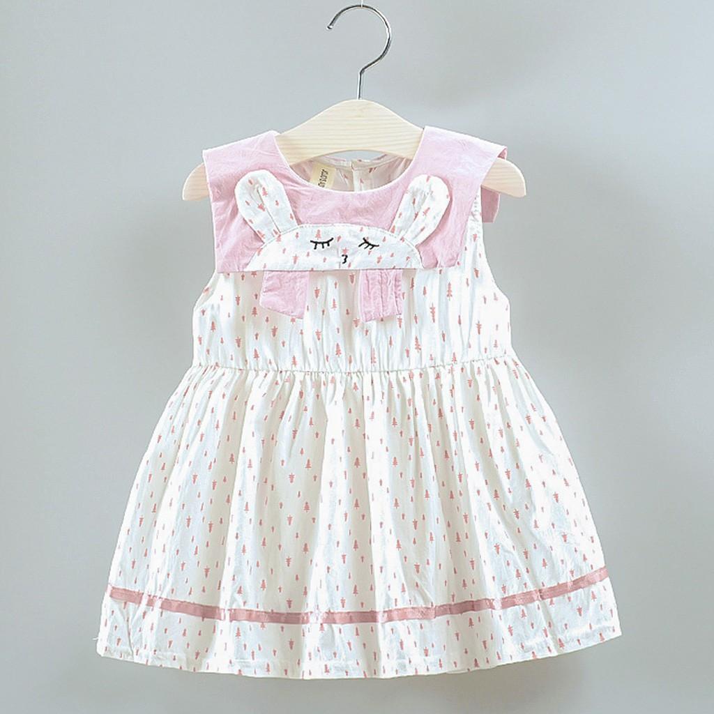 Đầm công chúa chấm bi hình thỏ cho bé gái - 22703111 , 2296290895 , 322_2296290895 , 138578 , Dam-cong-chua-cham-bi-hinh-tho-cho-be-gai-322_2296290895 , shopee.vn , Đầm công chúa chấm bi hình thỏ cho bé gái