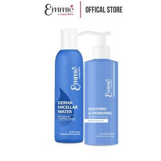 Bộ Sản Phẩm Làm Sạch Da Emmié By Happy Skin 2 món Gel Rửa Mặt Emmie 180ml + Nước Tẩy Trang Emmie 250ml thumbnail