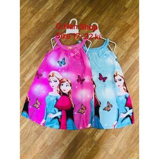 Đầm Lạnh Lụa Vải Đẹp Size 18-30 kí Nhiều Mẫu