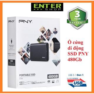 Ổ cứng SSD di động PNY Elite 480Gb Usb 3.1 gen 1
