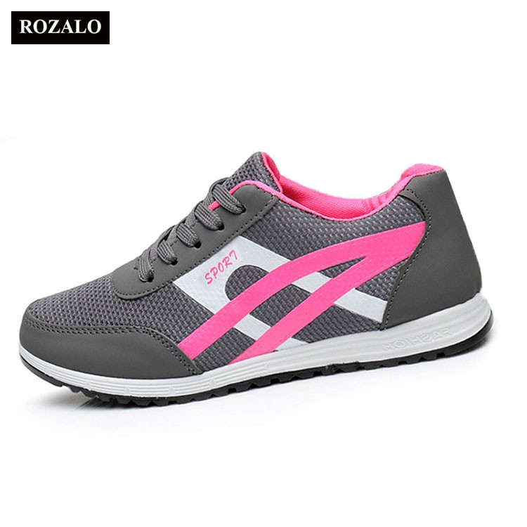 Giày thể thao nữ mũi lưới thời trang Rozalo RW48802